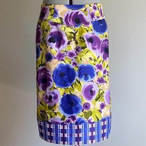Baraschi Anthropologie  Size 8 Pencil Skirt EUC